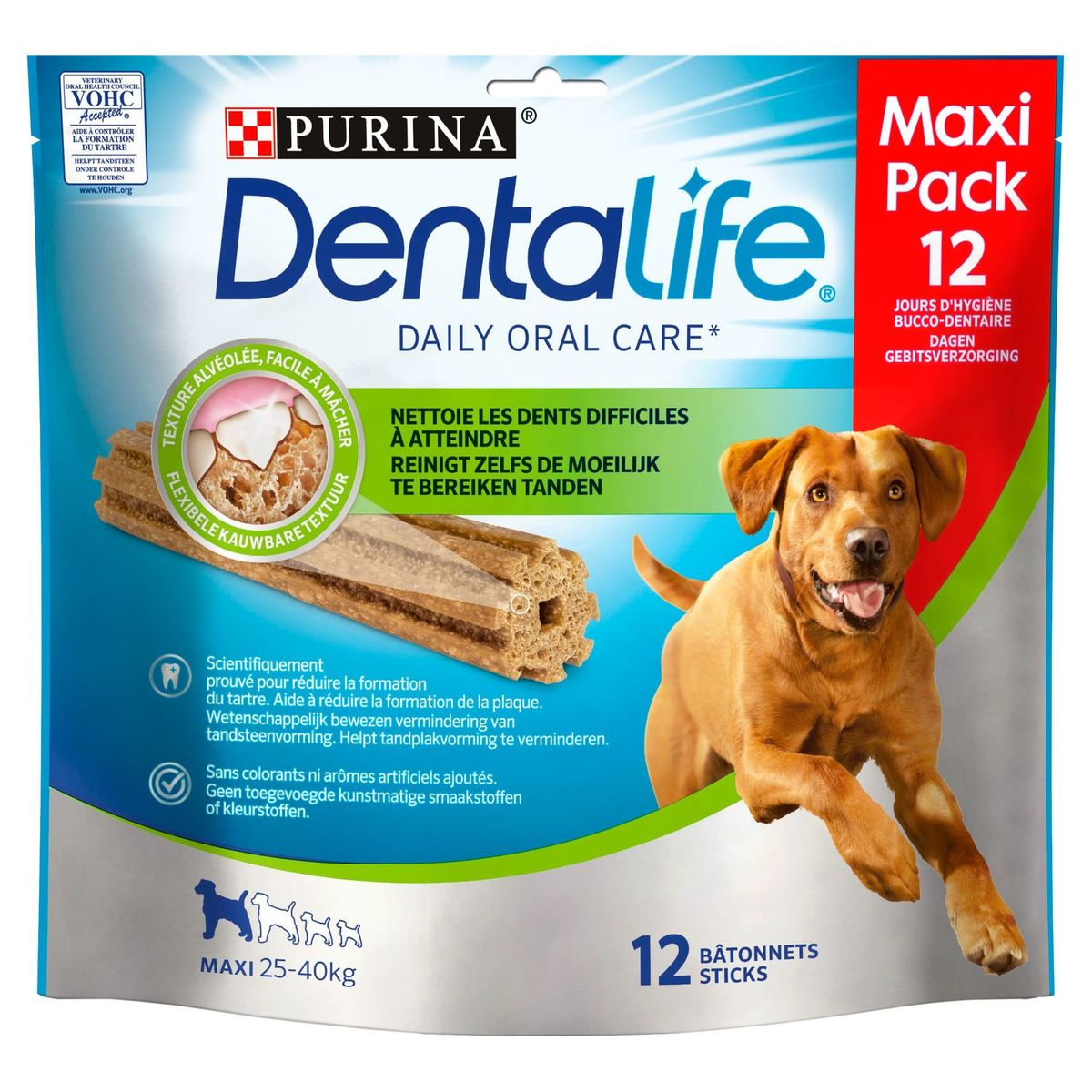 DENTALIFE Bâtonnets Chien Maxi Loyalty Pack Snack 426 g