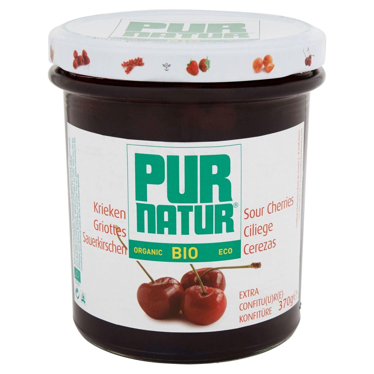 Pur Natur Bio Griottes Extra Confiture 370 g