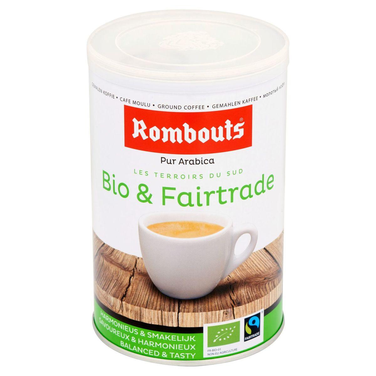 Rombouts Café Moulu Pur Arabica Bio & Fairtrade 250 g