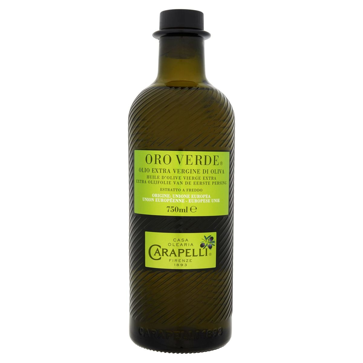 Carapelli Oro Verde Huile d'Olive Vierge Extra 750 ml