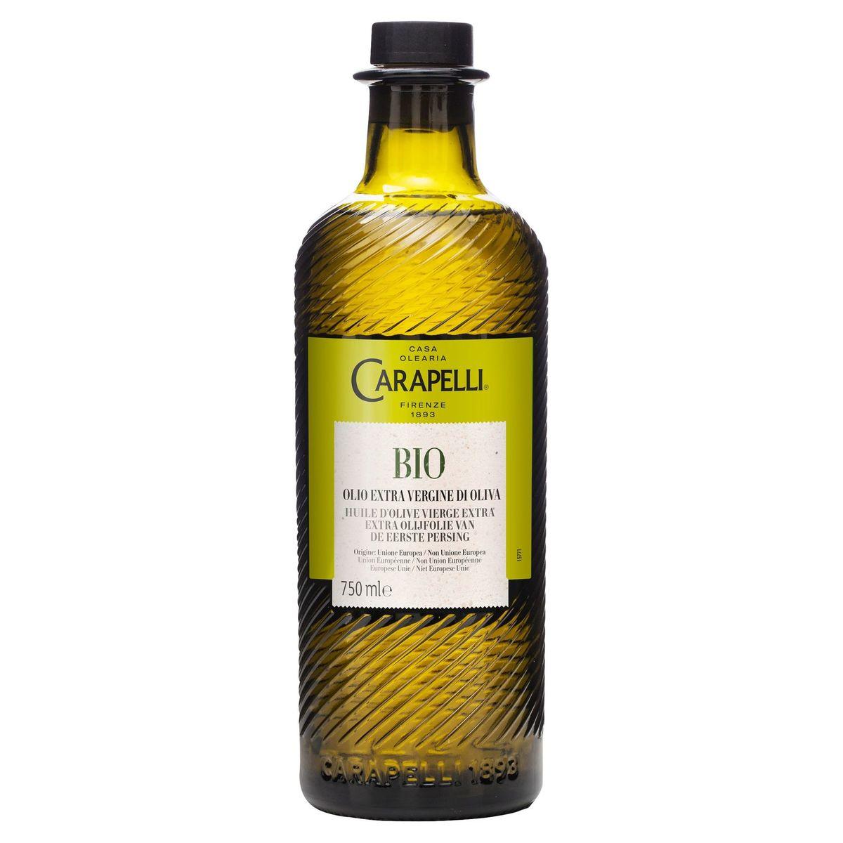 Carapelli Bio Huile d'Olive Vierge Extra 750 ml