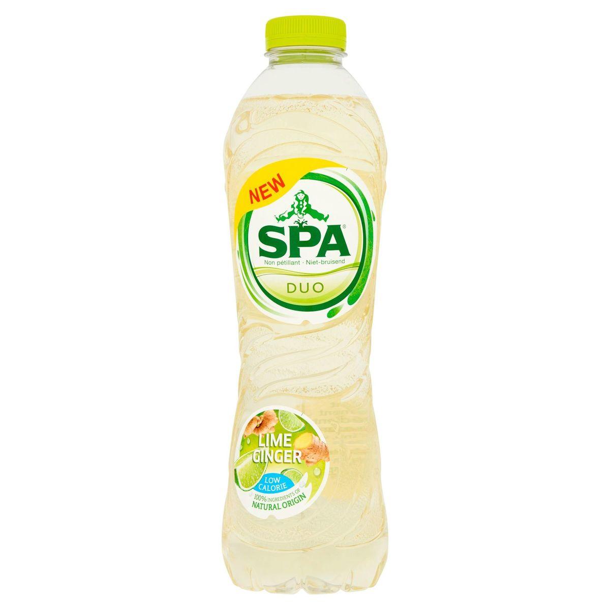 Spa Duo Limoen - Gember Niet-Bruisend PET 1 L