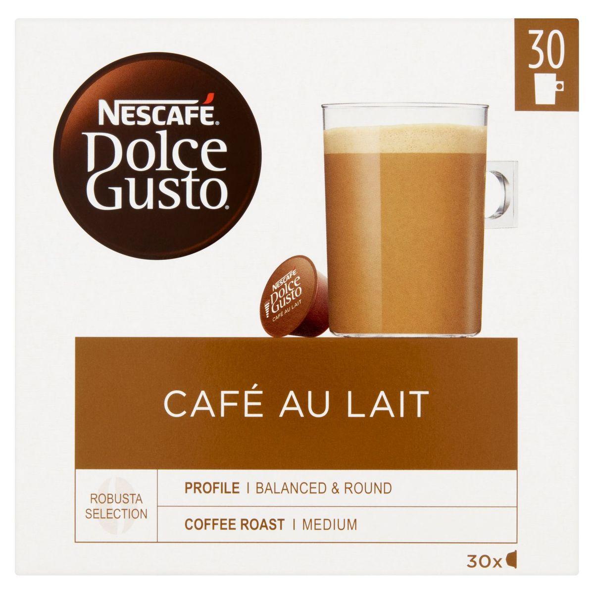 Nescafé Dolce Gusto Café au Lait 30 Capsules 300 g