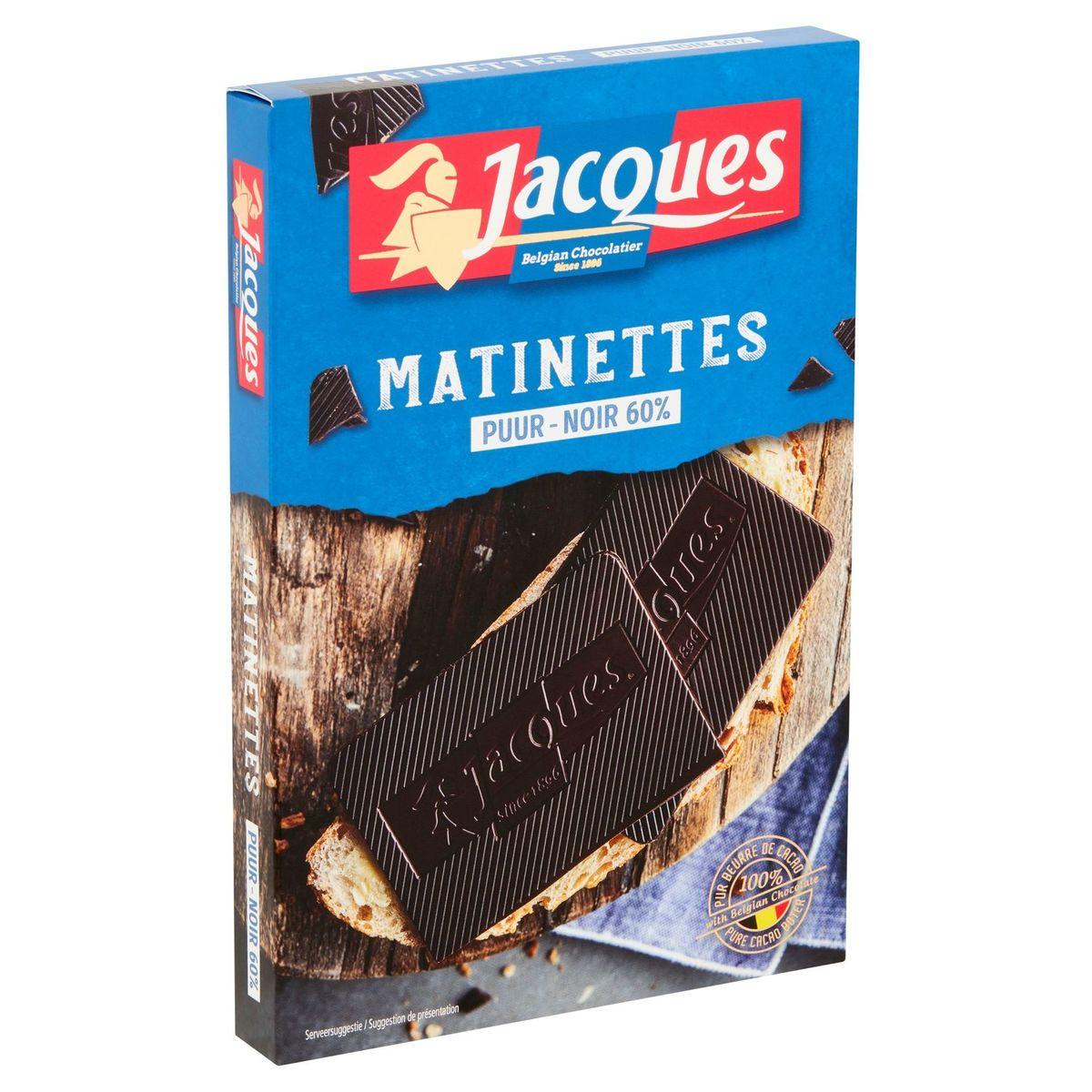 Jacques Matinettes Noir 60% 128 g