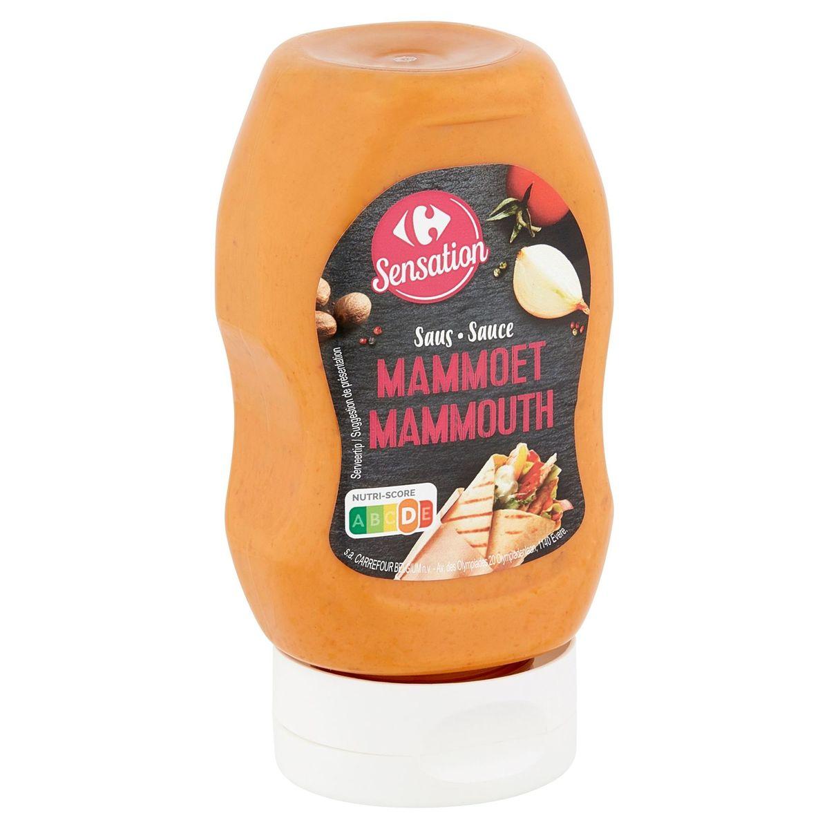 Carrefour Sensation Saus Mammoet 300 ml