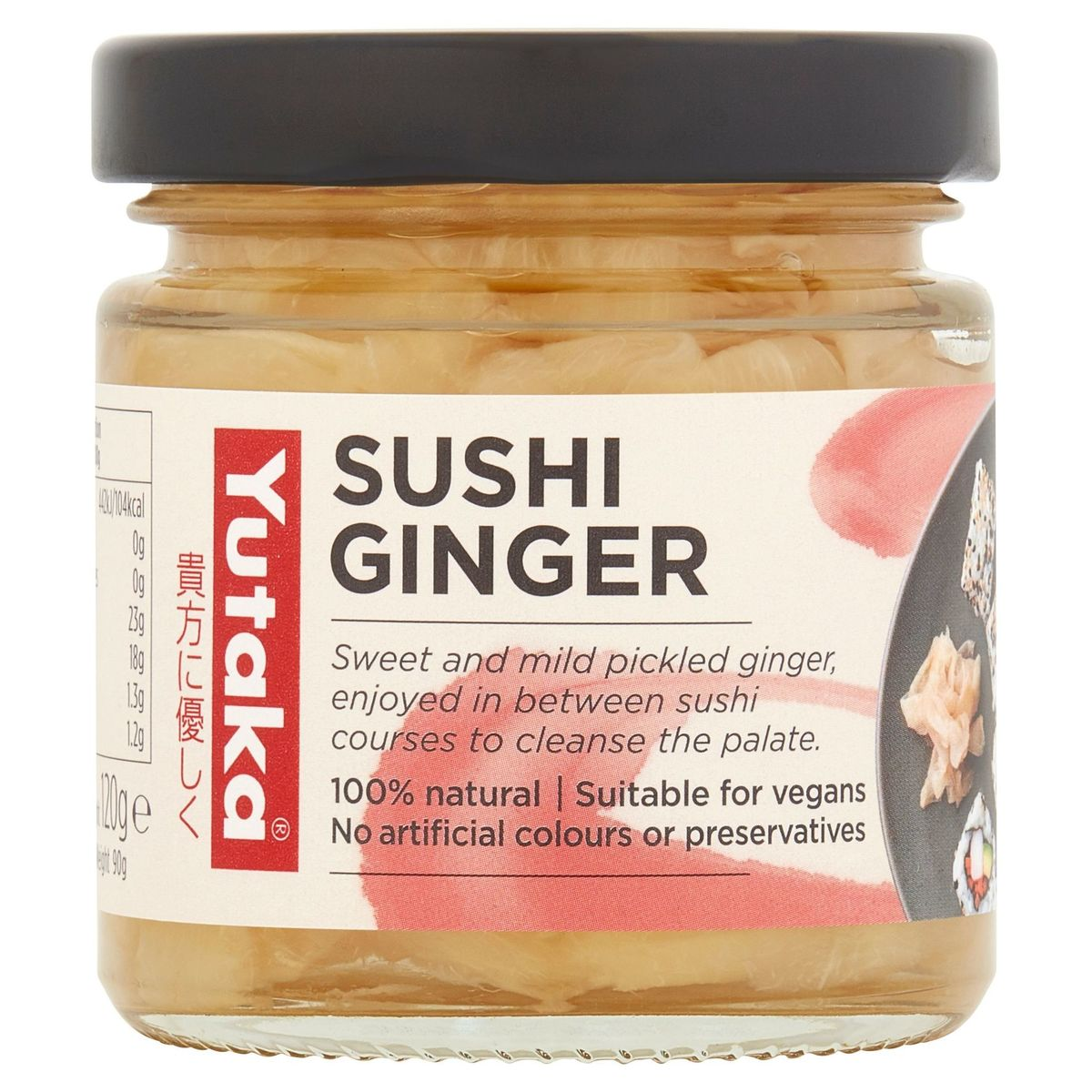 Yutaka Sushi Ginger 120 g
