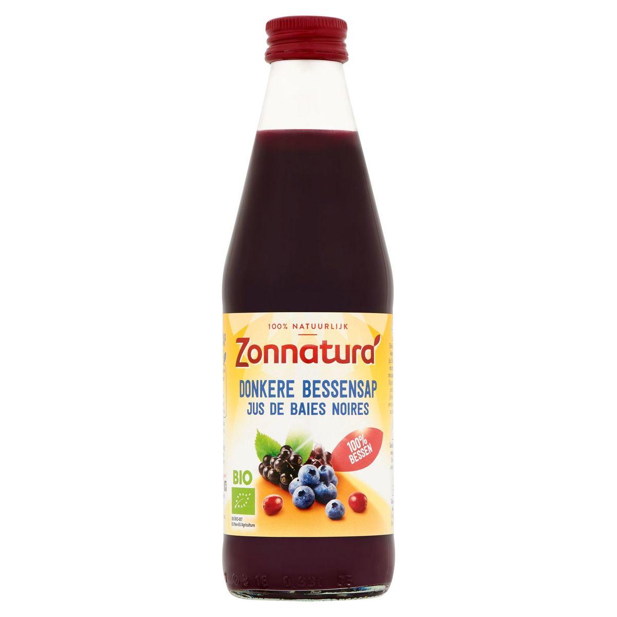 Zonnatura Bio Jus de Baies Noires 330 ml