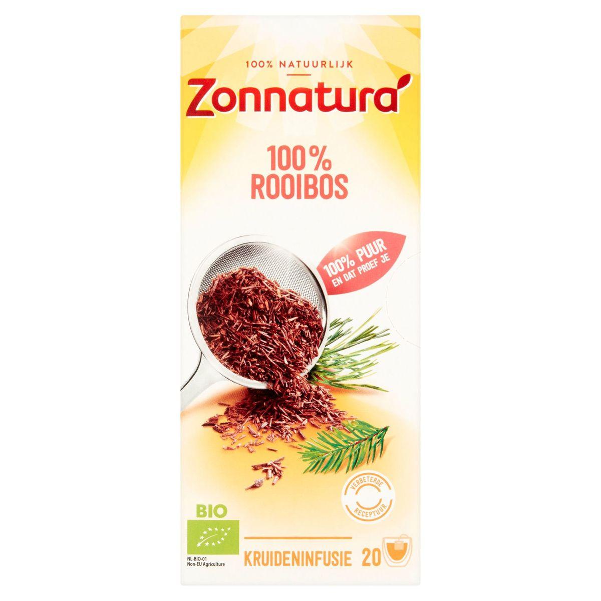 Zonnaturà Bio 100% Rooibos 20 Sachets 31 g