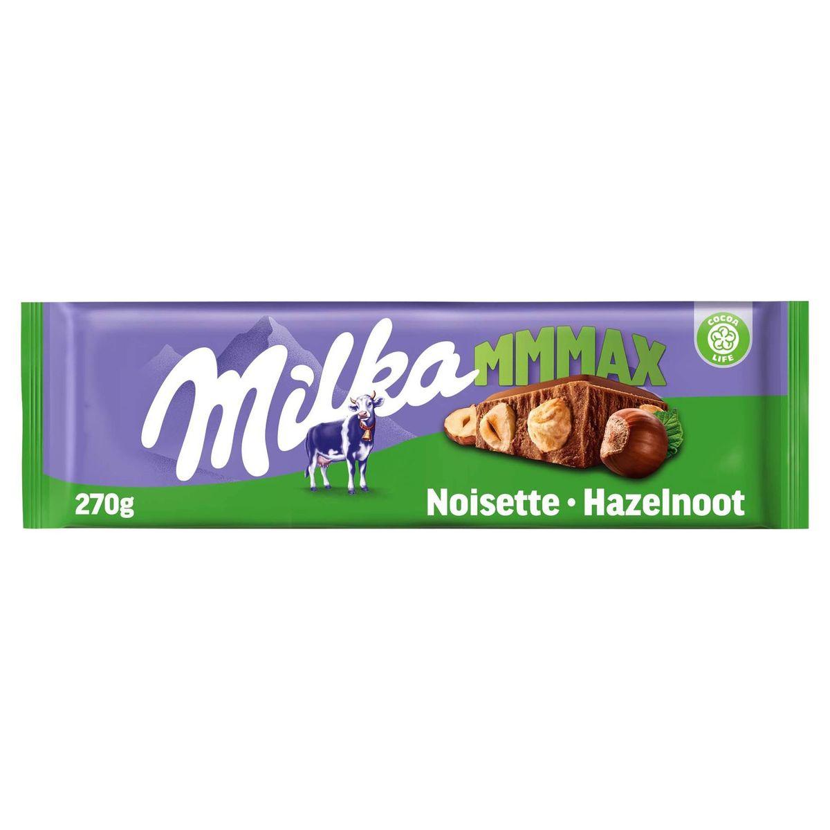 Milka Mmmax Noisettes Entières 270 g