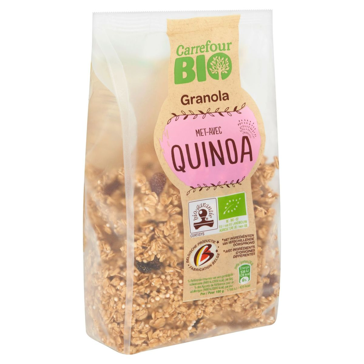 Carrefour Bio Granola avec Quinoa 375 g