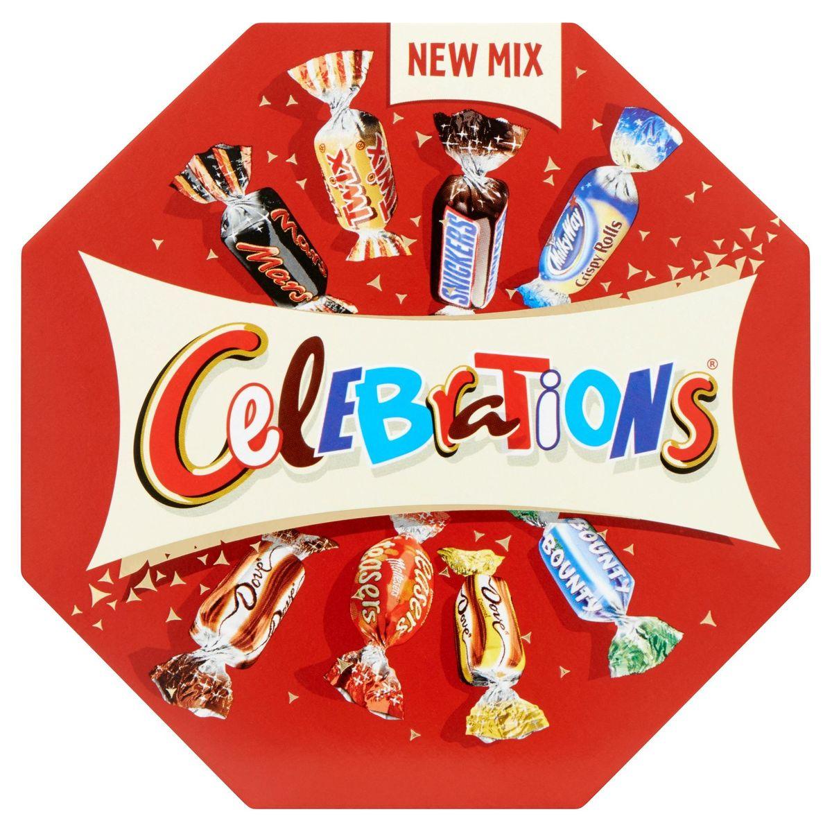 Celebrations Boîte de Chocolat 186 g
