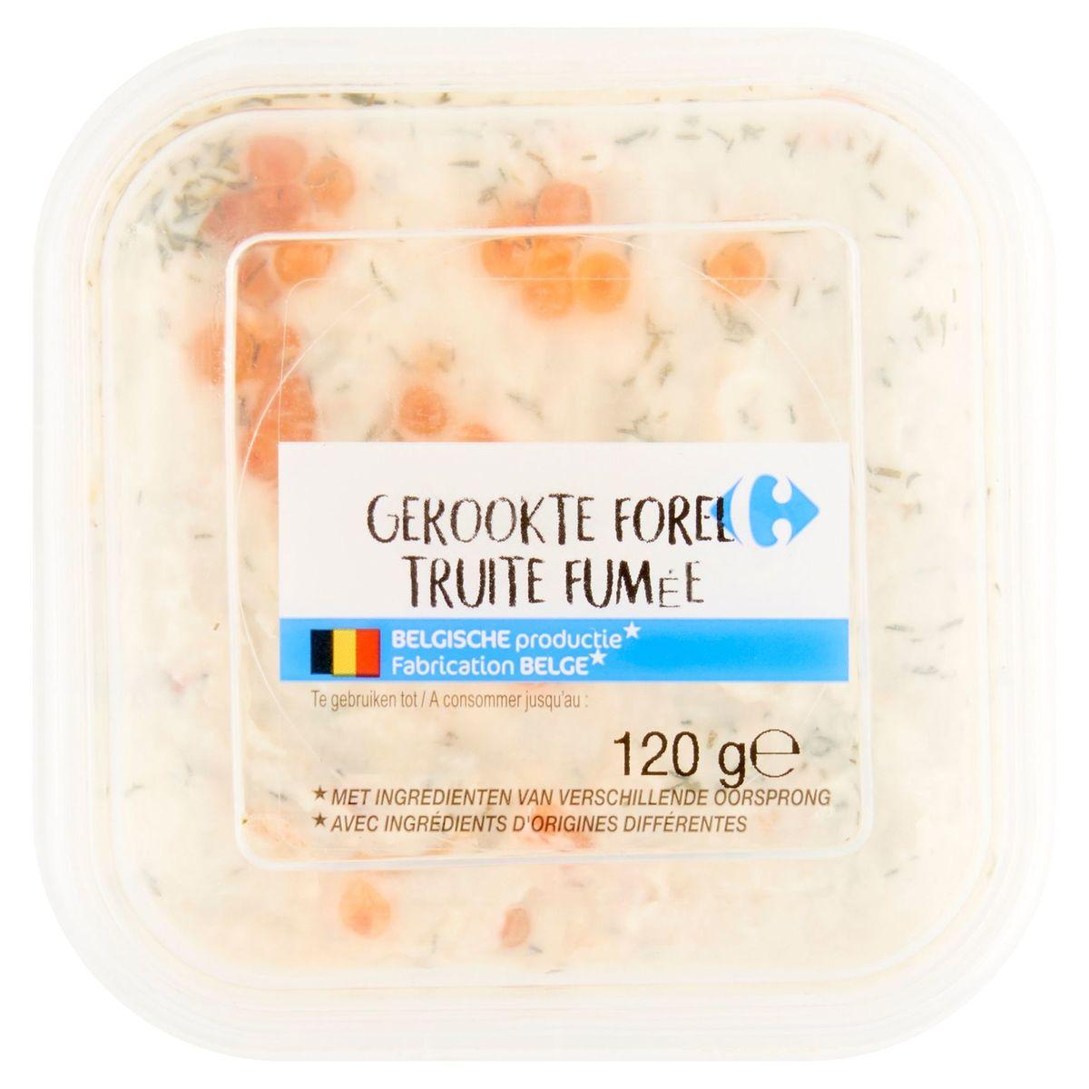 Carrefour Truite Fumée 120 g