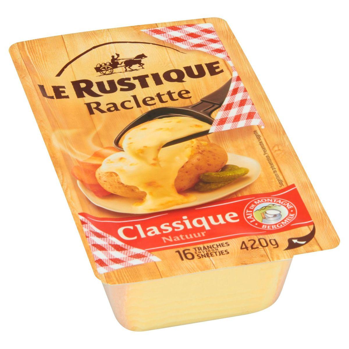Le Rustique Raclette Natuur 420 g