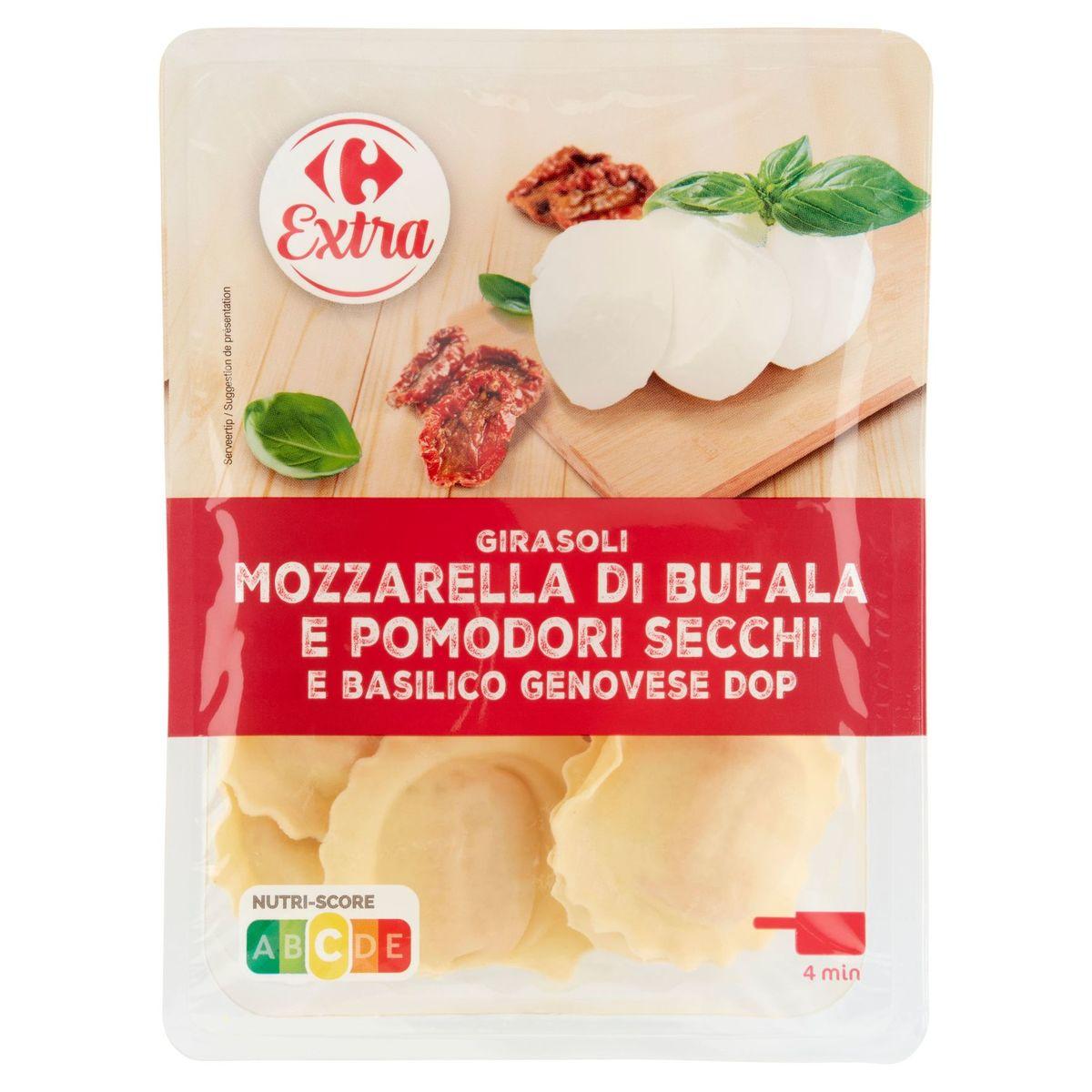Carrefour Girasoli Mozzarella, Pomodori Secchi Basilico Genovese 250 g