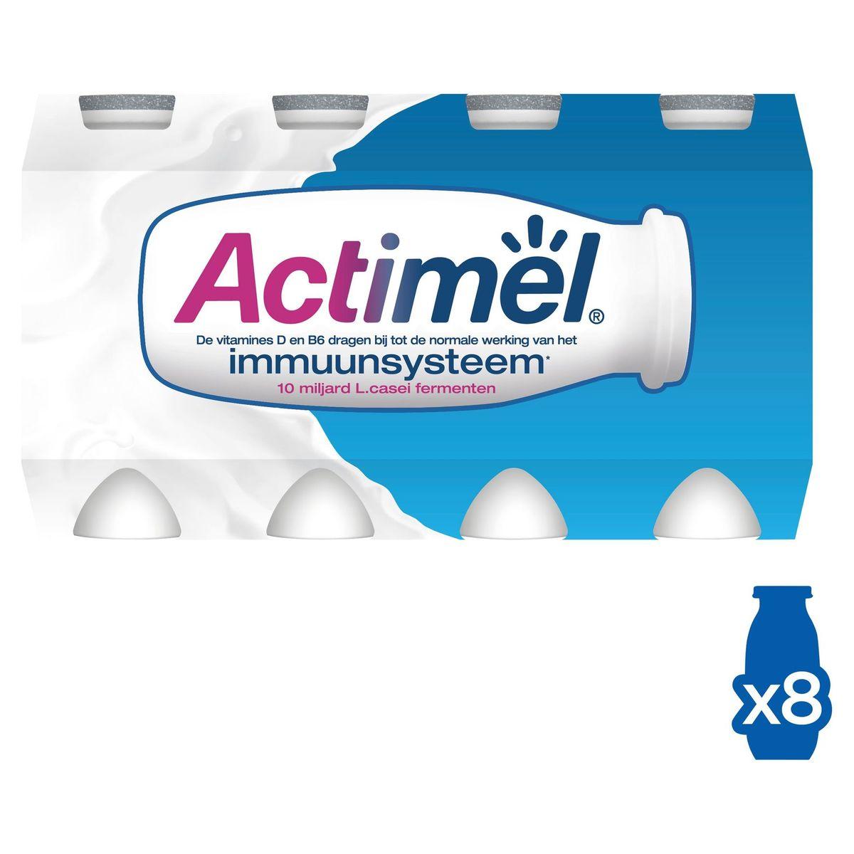 Actimel Yaourt à Boire Original contribue l'Immunité 8 x 100 g