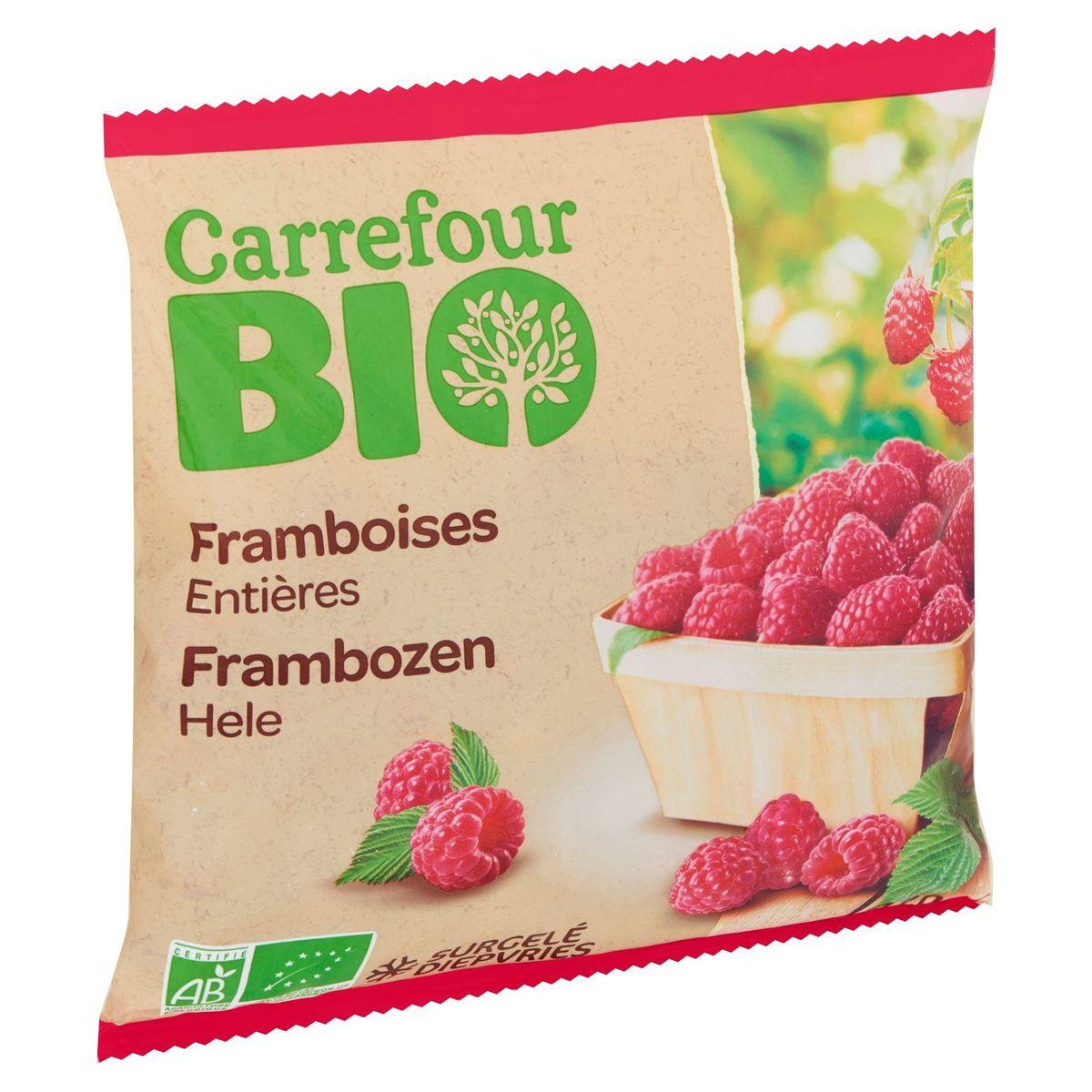 Carrefour Bio Framboises Entières 450 g
