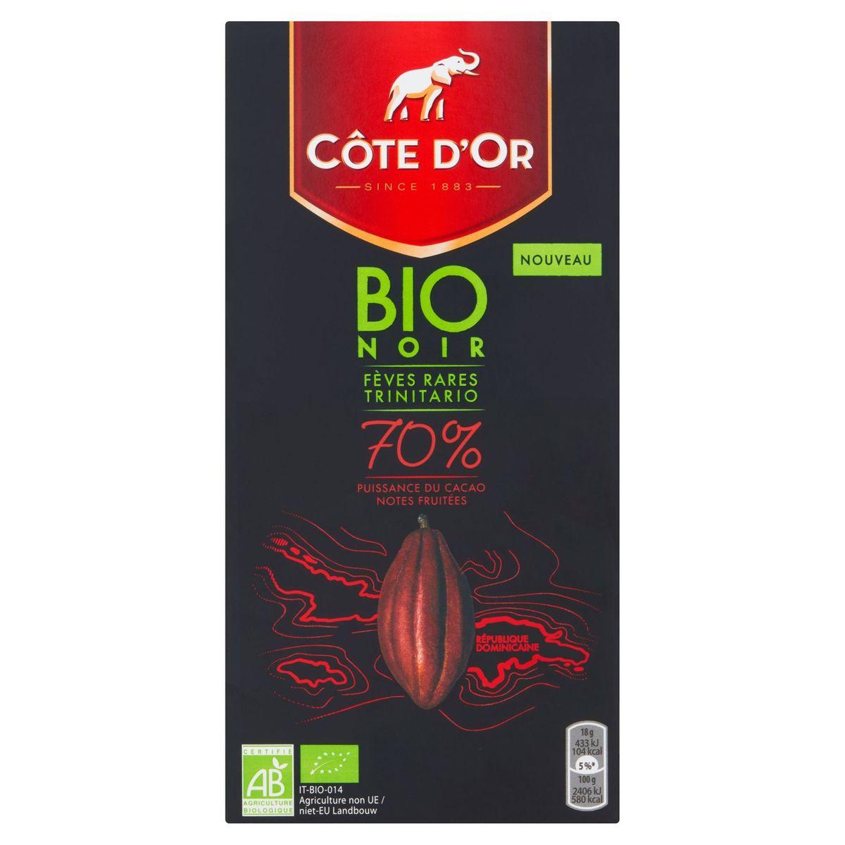Côte d'Or Bio Noir 70% 90 g