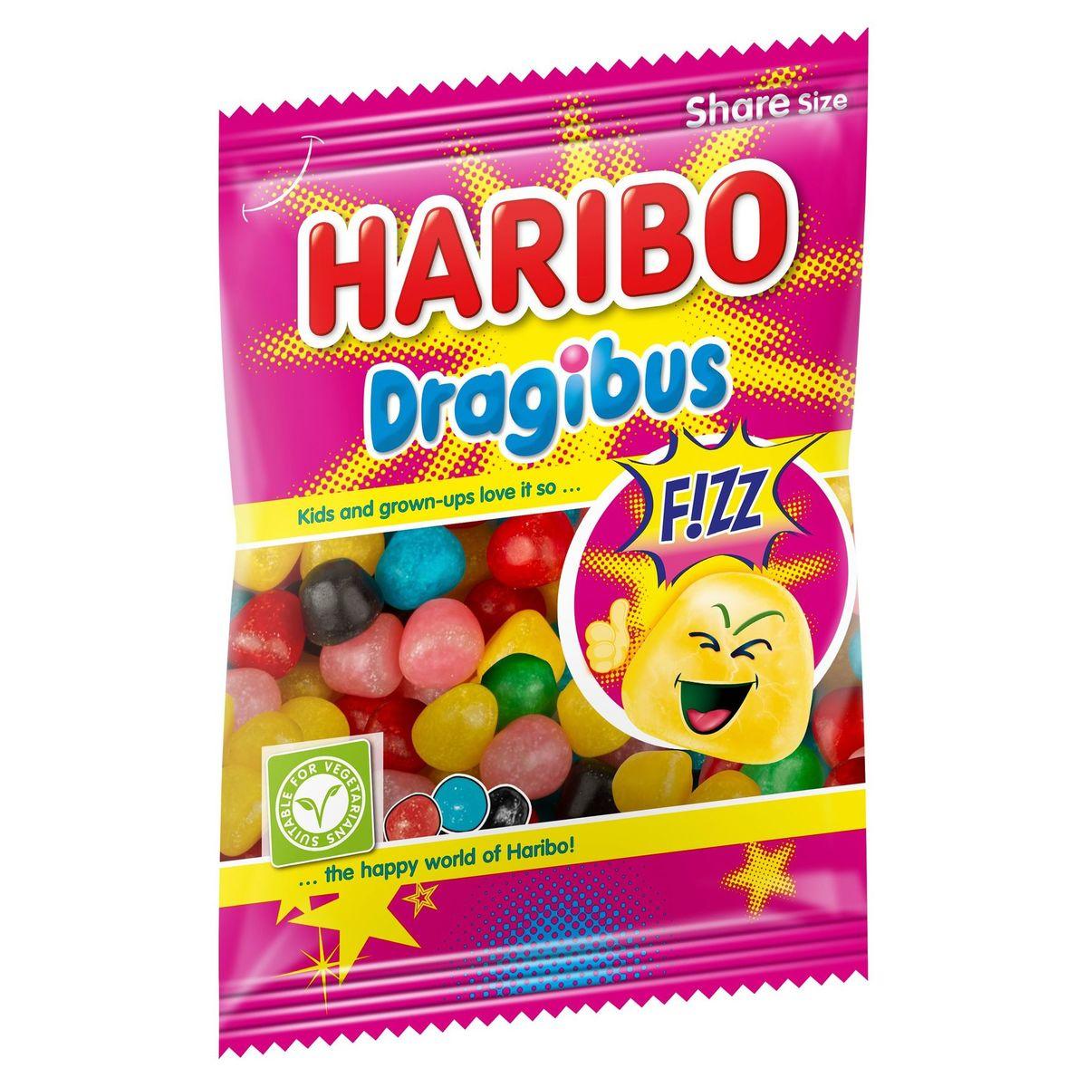 Haribo Dragibus F!ZZ Share Size 200 g
