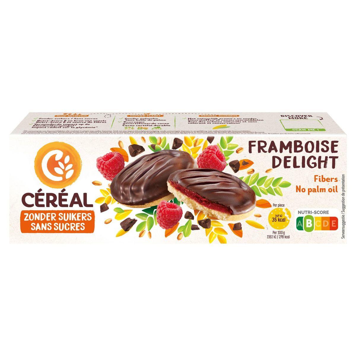 Céréal Sans Sucres Framboise Delight 11 Biscuits 140 g