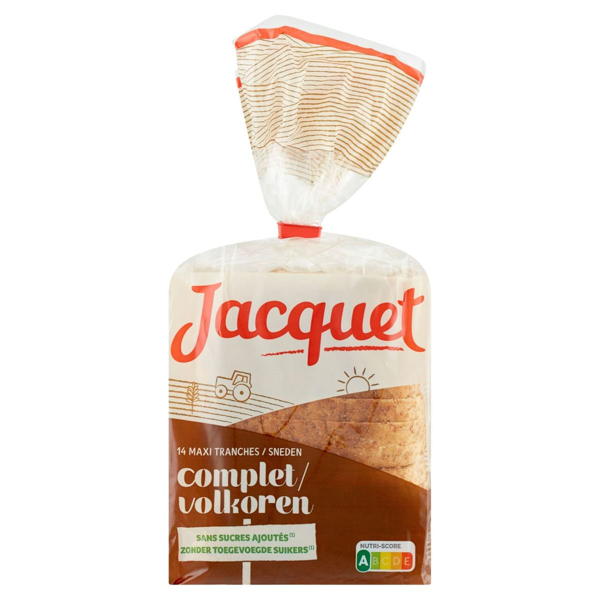 Jacquet Complet 14 Maxi Tranches 550 g