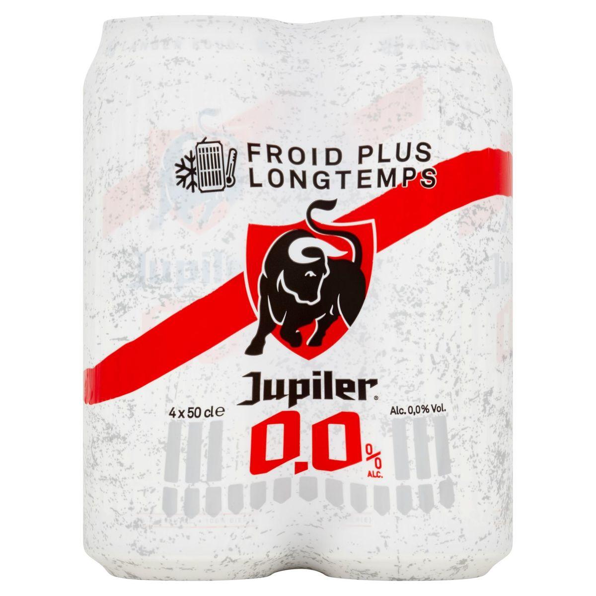 Jupiler 0.0% Alc. Canettes 4 x 50 cl