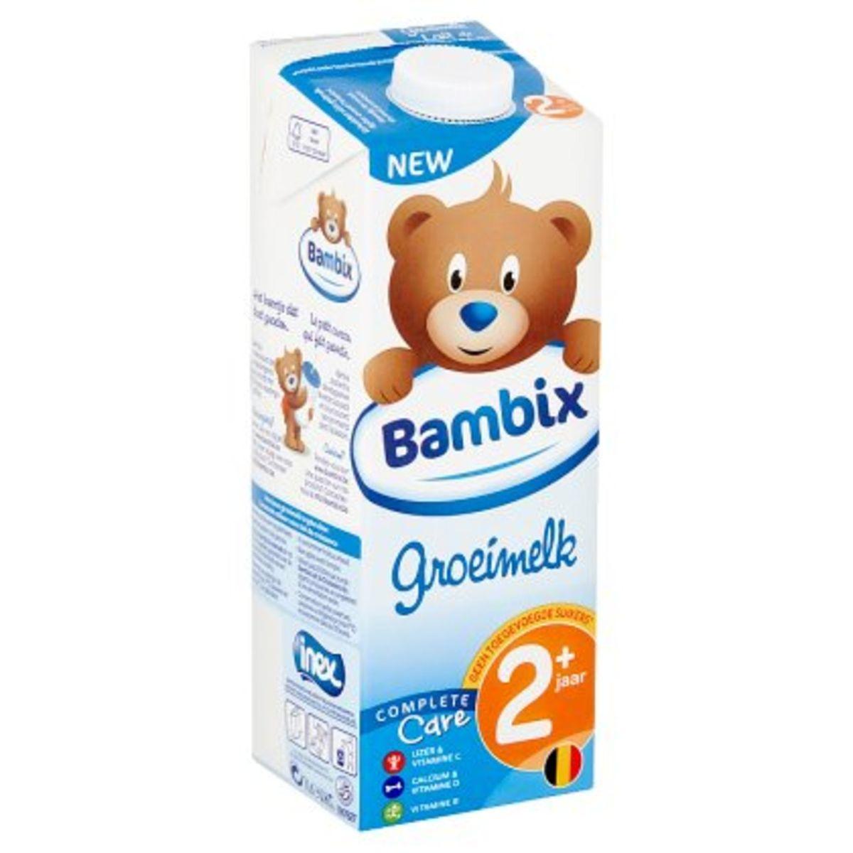 Bambix Lait de Croissance 2+ Ans 1 L