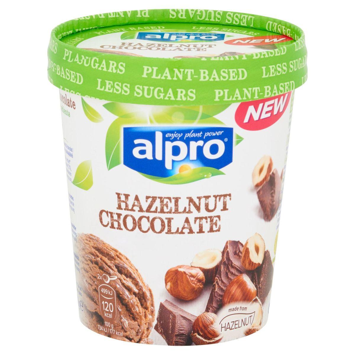 Alpro Glace Végétale à Base de Noisette et Chocolat 500 ml