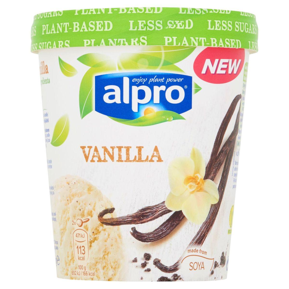 Alpro Glace Végétale à Base de Soja & Vanille 500 ml