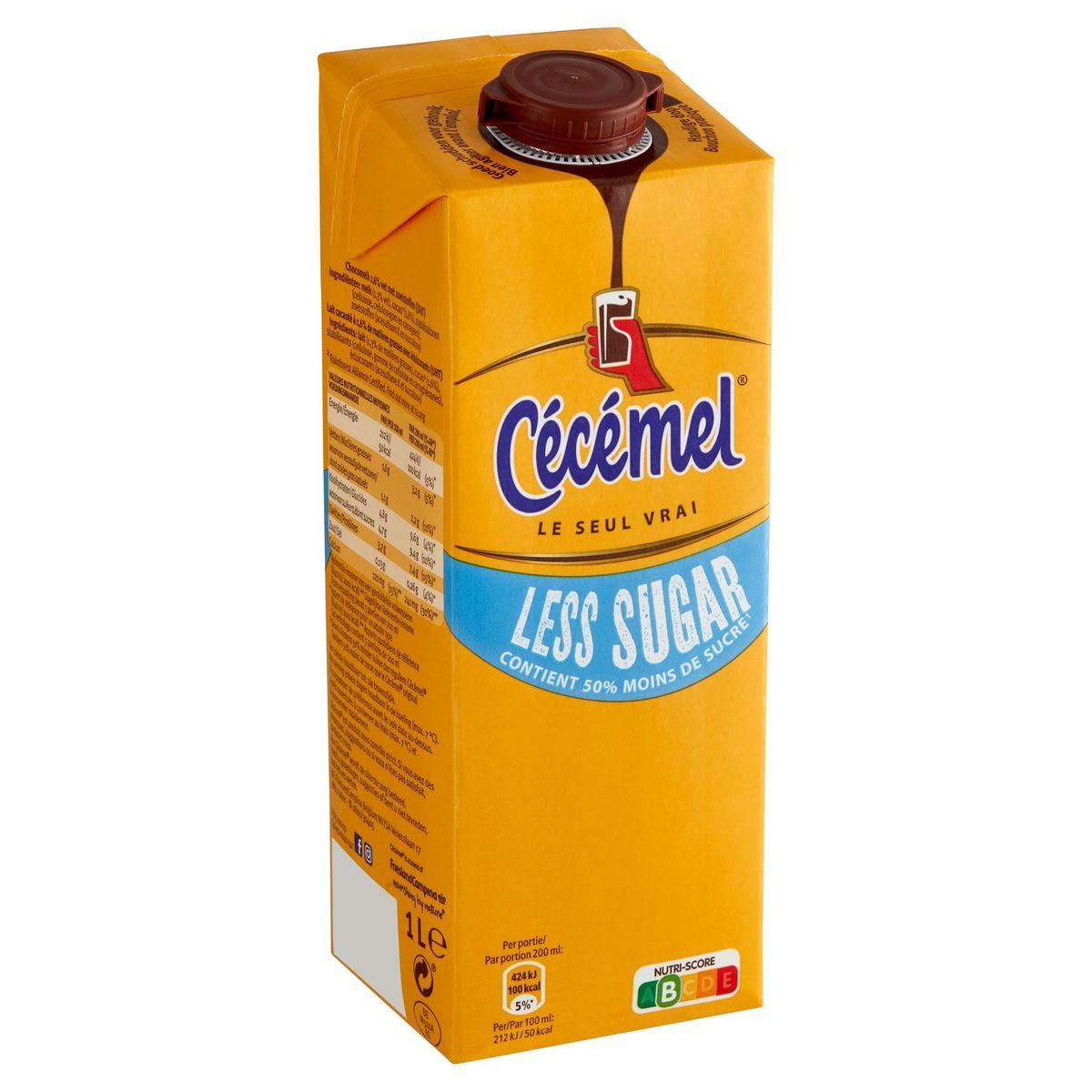 Cécémel Less Sugar 1 L