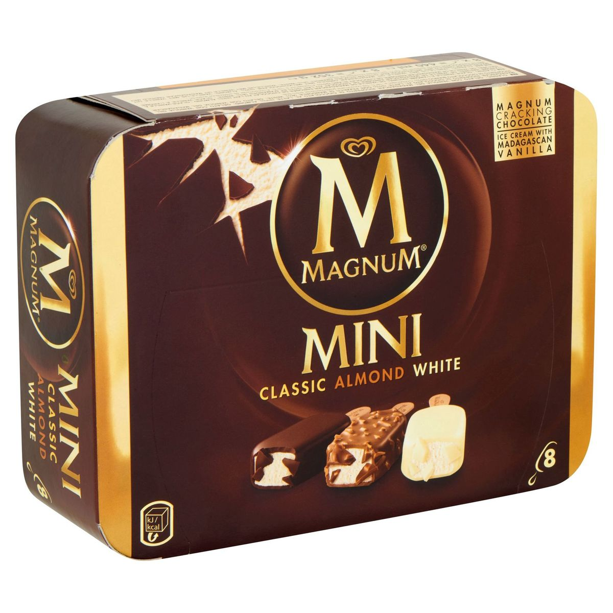 Magnum Ola Ijs Multipack Mini Classic Almond White 8 x 55 ml