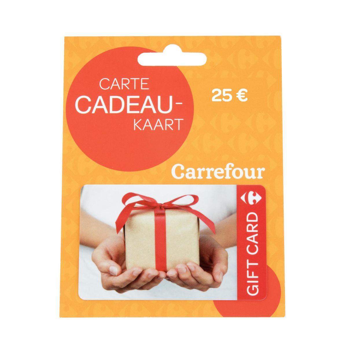Cadeaukaart Carrefour 25 €