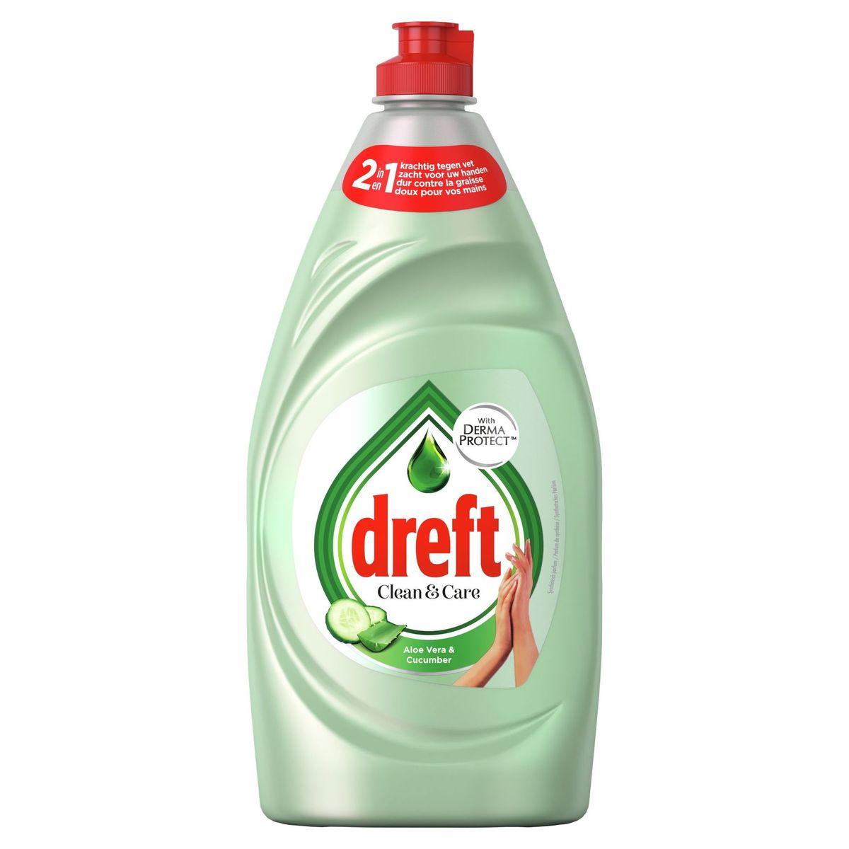 Dreft Clean & Care Afwasmiddel Aloe Vera & Cucumber 780 ml
