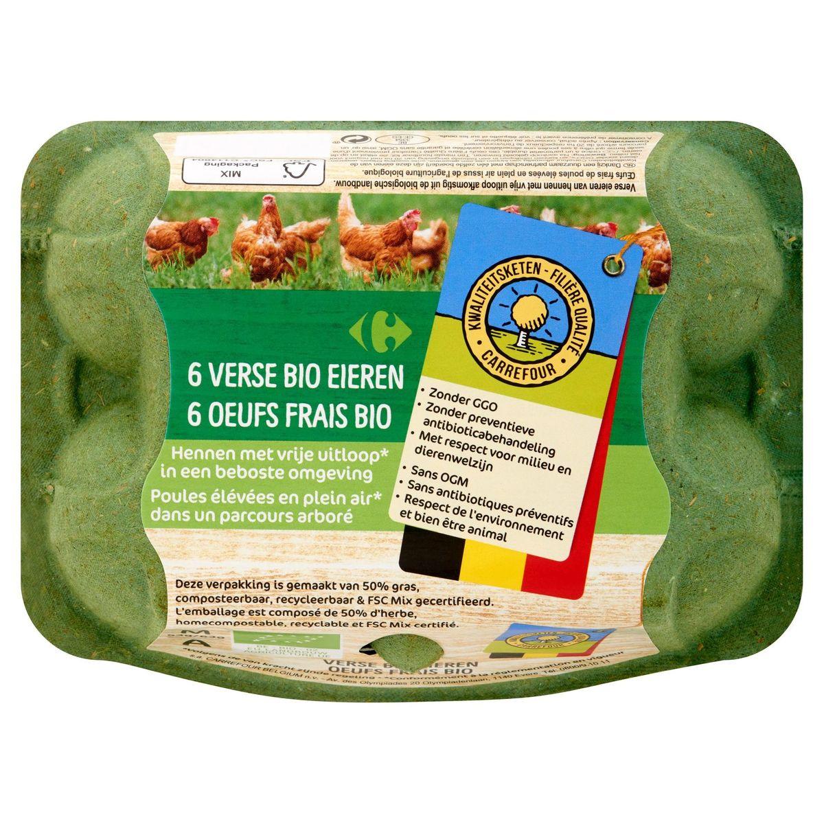 KKC Carrefour 6 Verse Bio Eieren