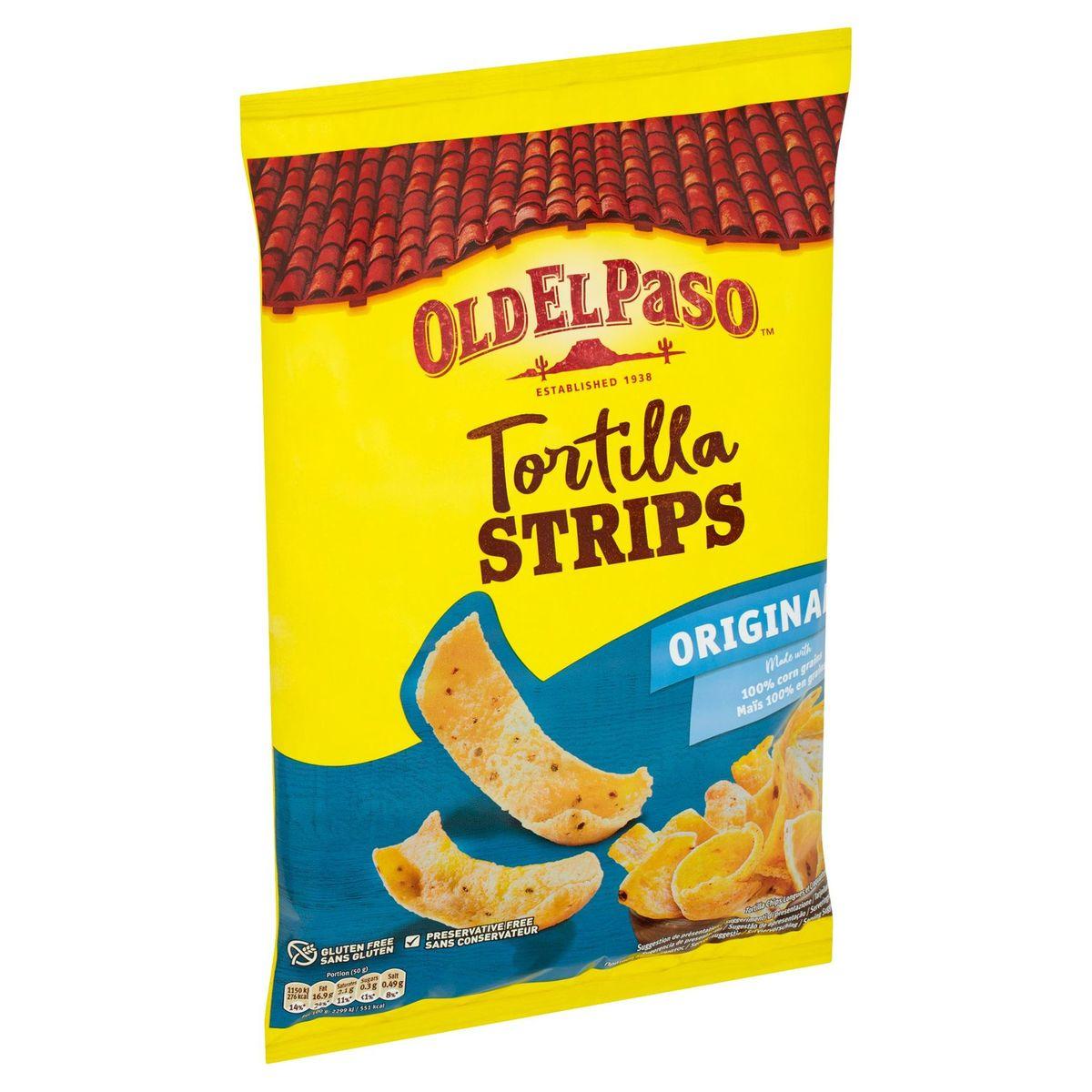 Old El Paso Tortilla Strips Original 185 g