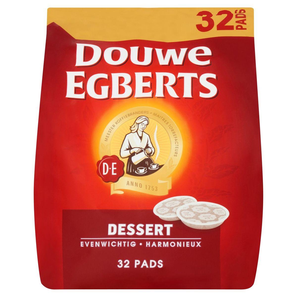 DOUWE EGBERTS Café Pads Dessert 32 Pièces
