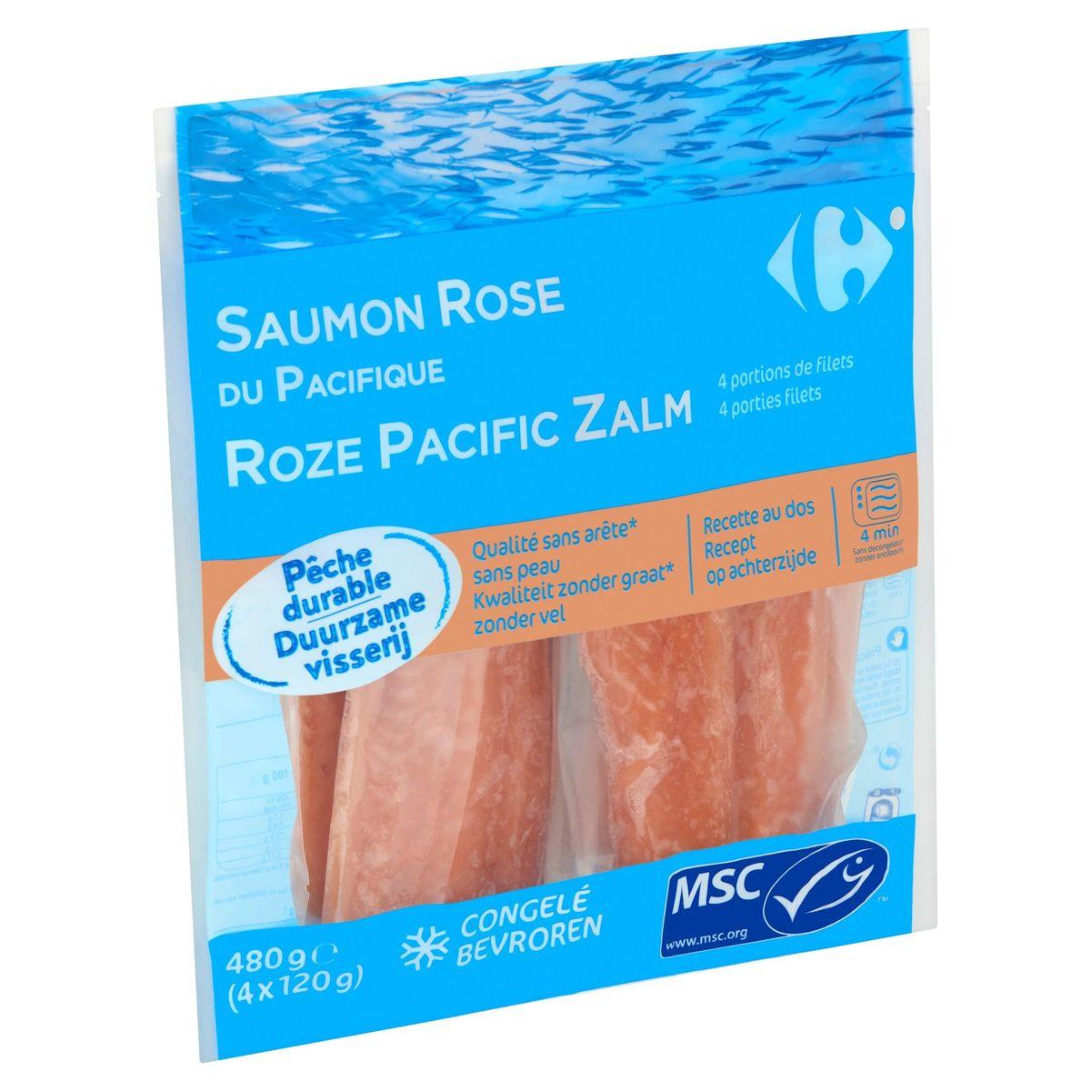 Carrefour Saumon Rose du Pacifique 4 x 120 g