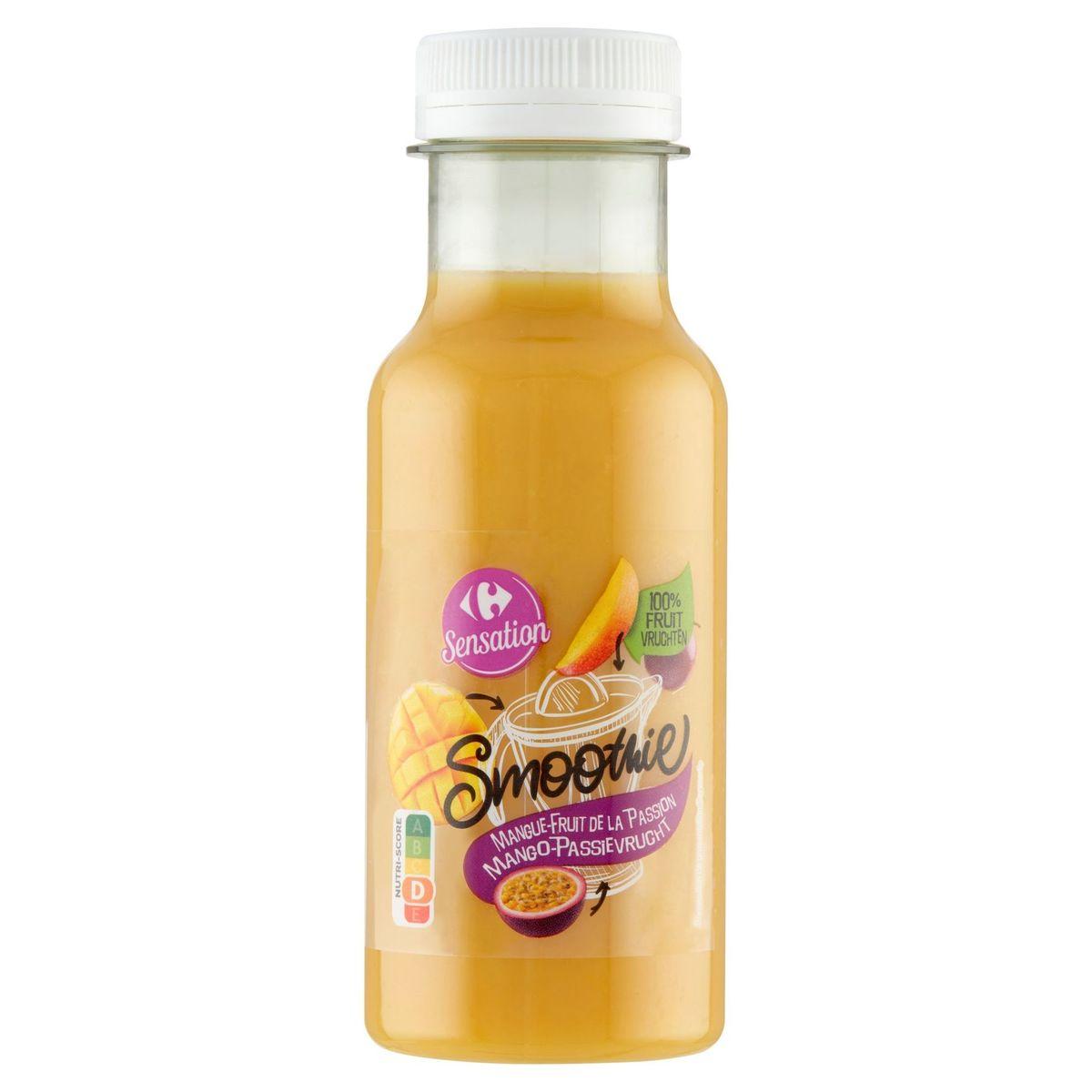 Carrefour Sensation Smoothie Mango-Passievrucht 250 ml