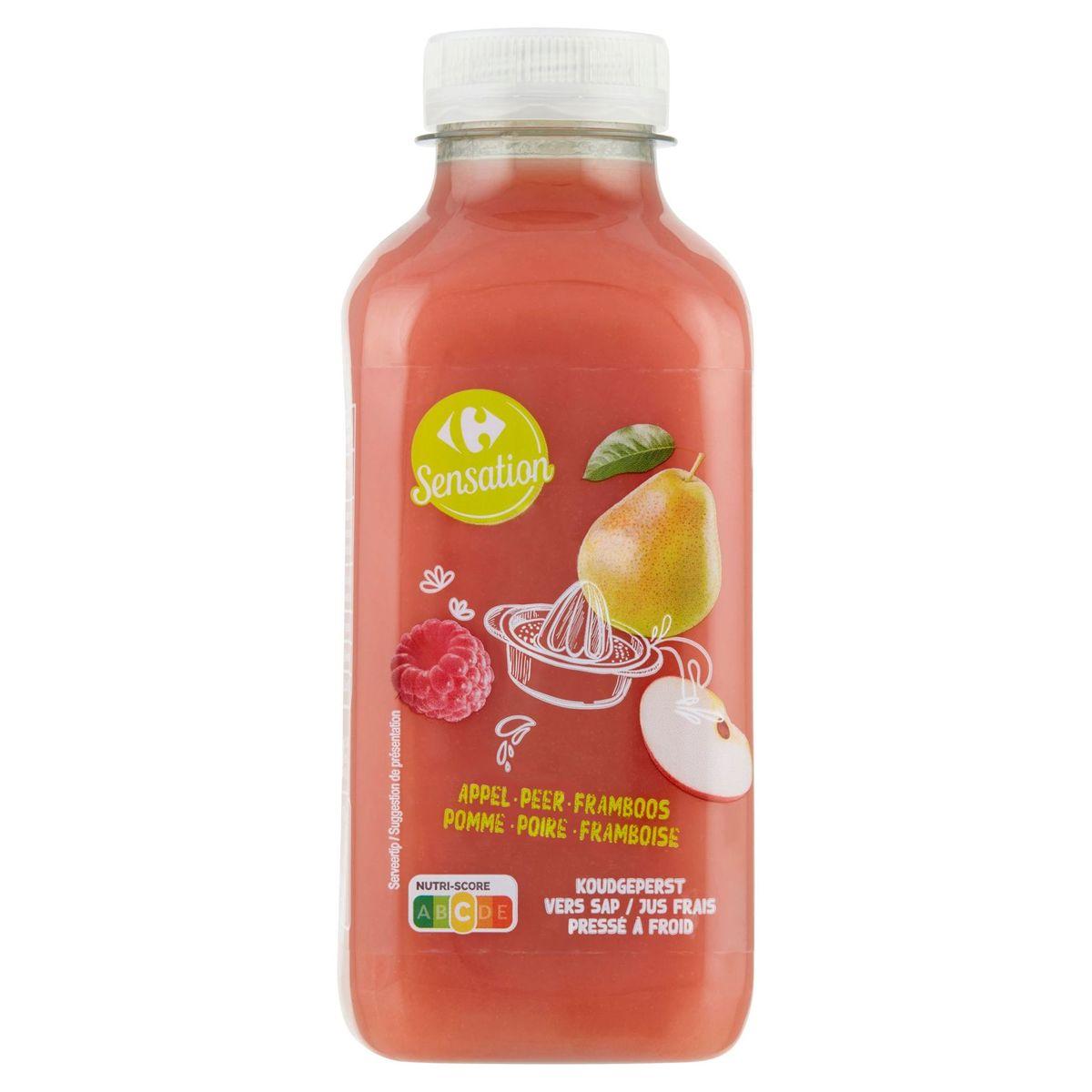 Carrefour Pomme - Poire - Framboise Jus Frais 500 ml