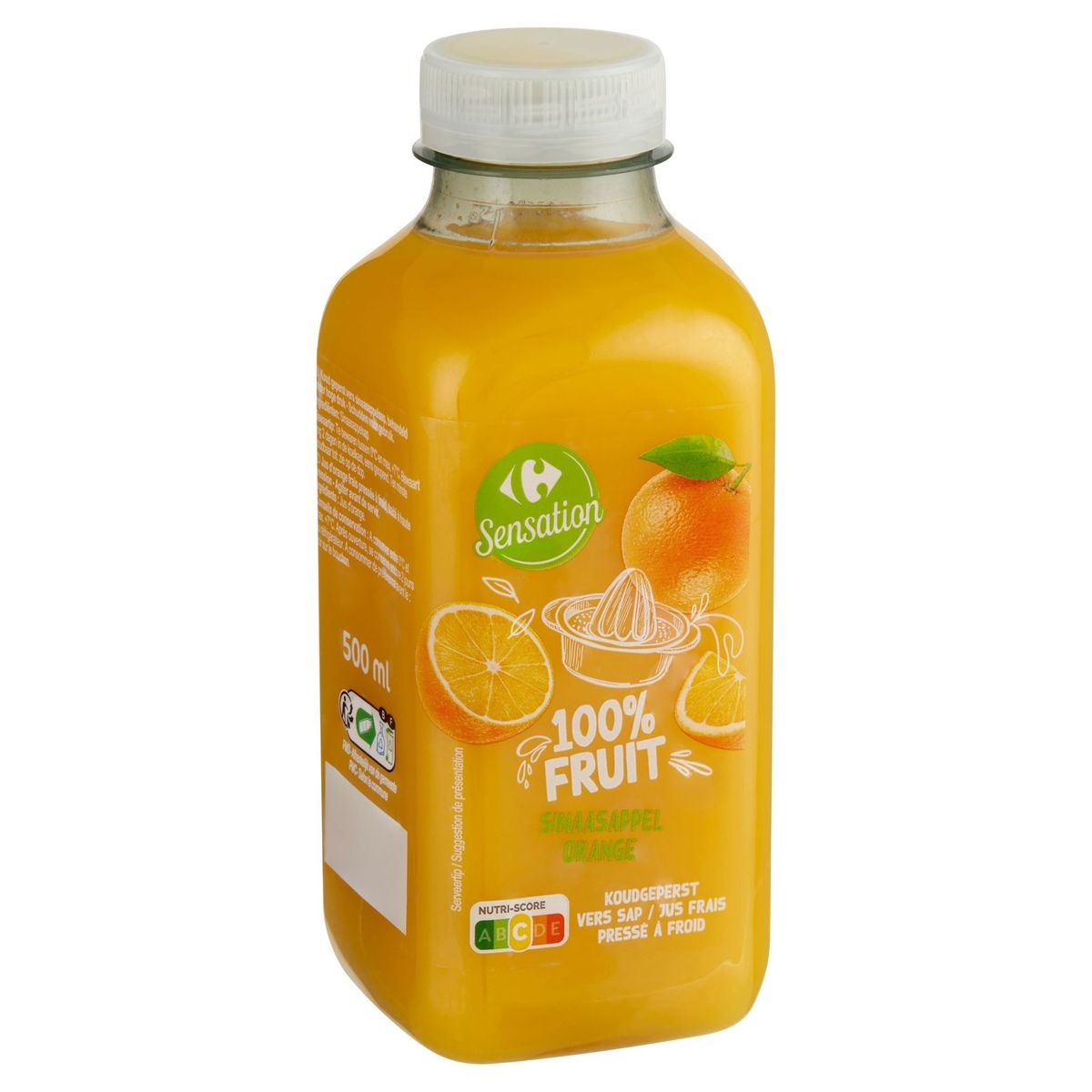 Carrefour Sinaasappel Vers Sap 500 ml