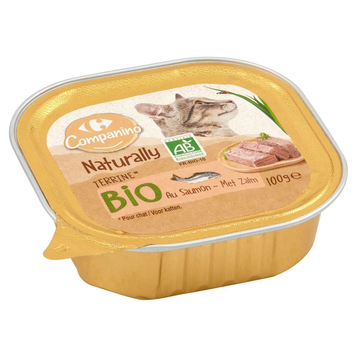 Carrefour Bio Adult Terrina met Zalm 100 g