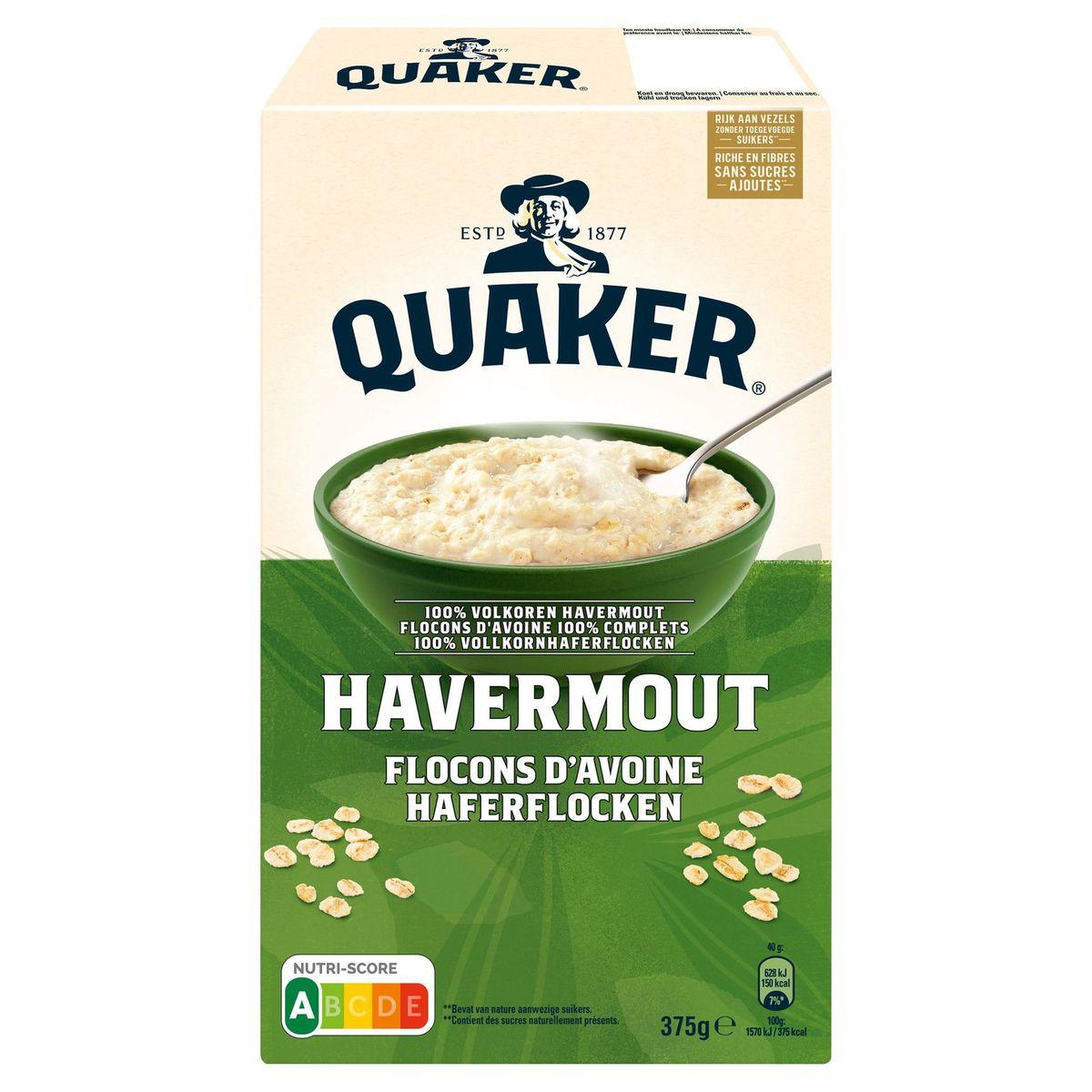 Quaker Havermout 375 gr