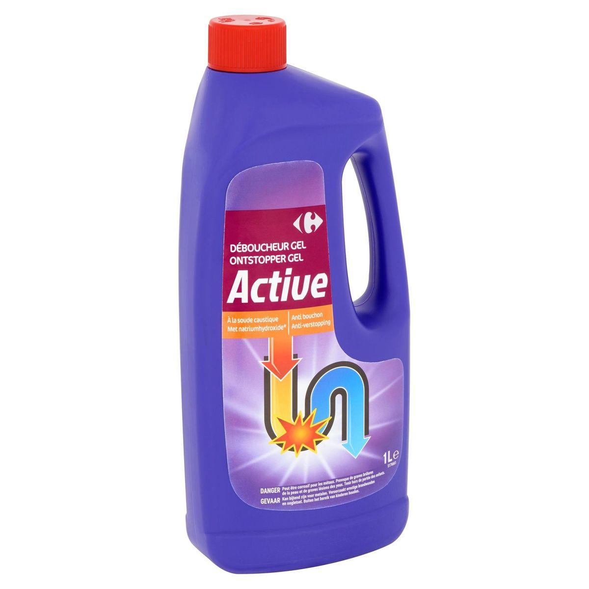 Carrefour Active Ontstopper Gel met Natriumhydroxide 1 L