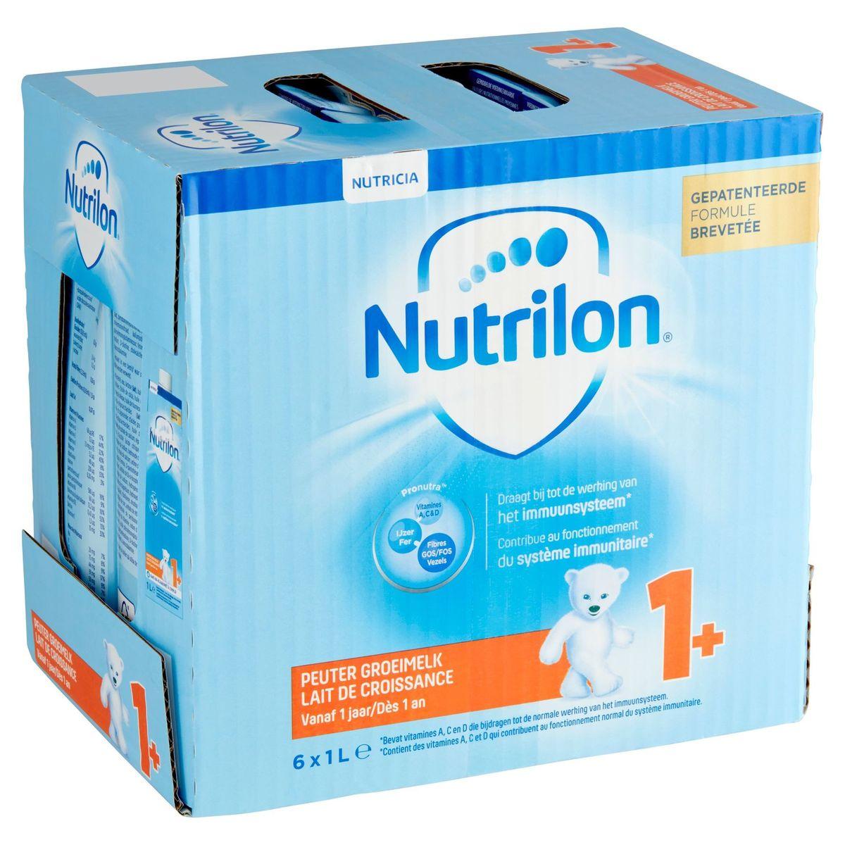Nutrilon Lait de Croissance 1+ dès 1 An 6 x 1 L