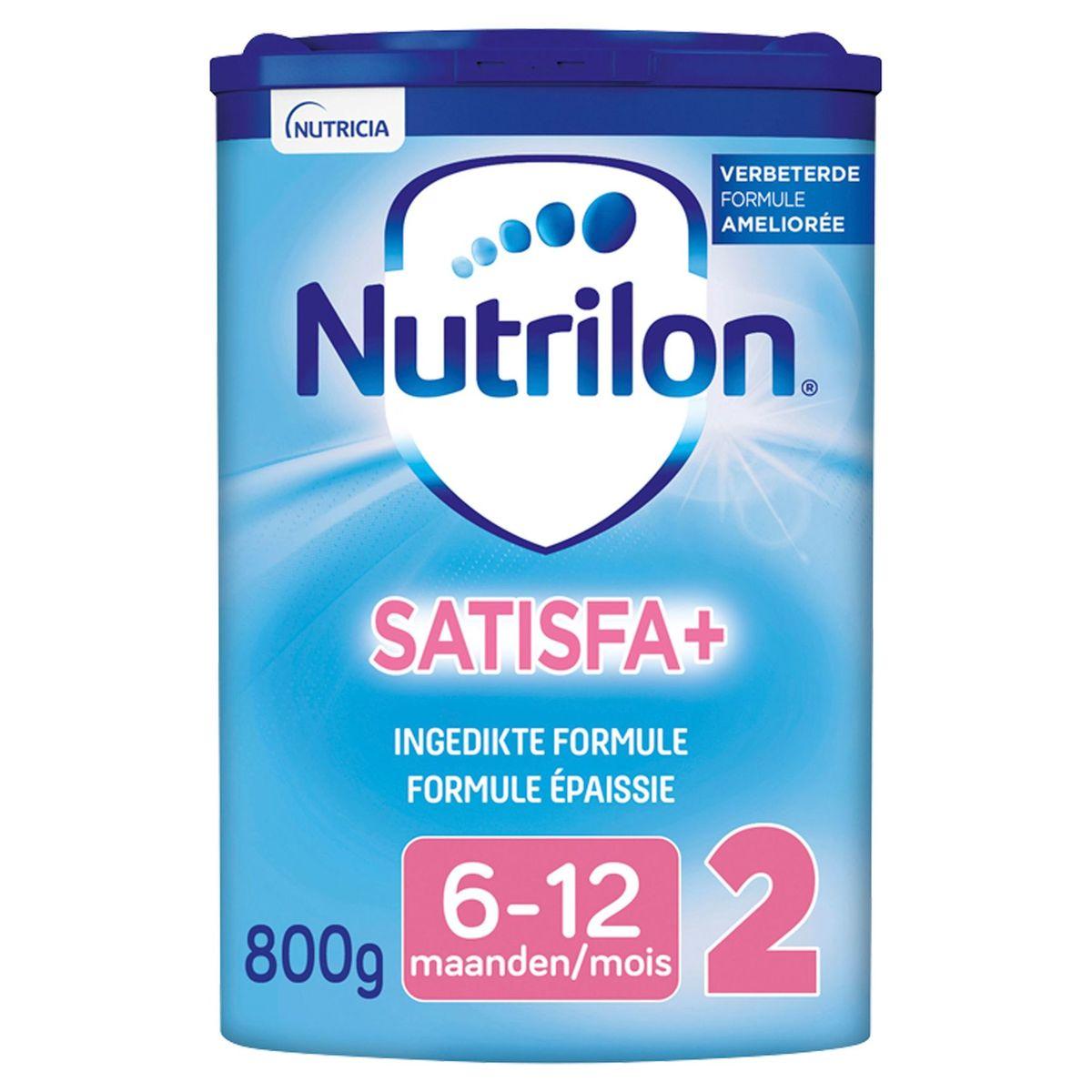 Nutrilon 2 Satiété Lait de Suite poudre bébé dès 6 mois 800g