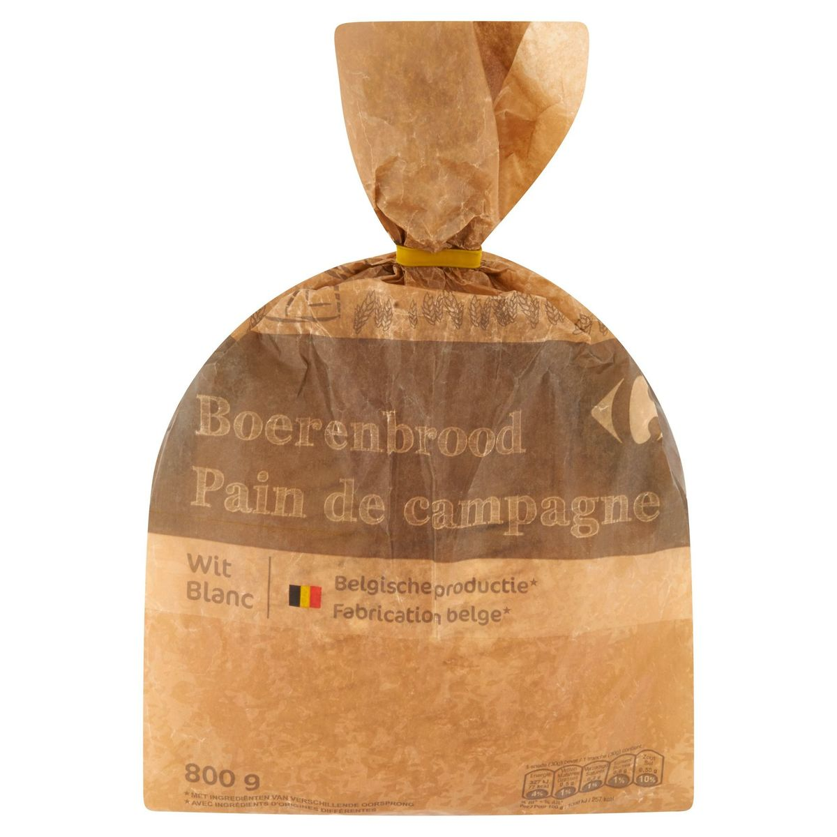Carrefour Boerenbrood Wit 800 g