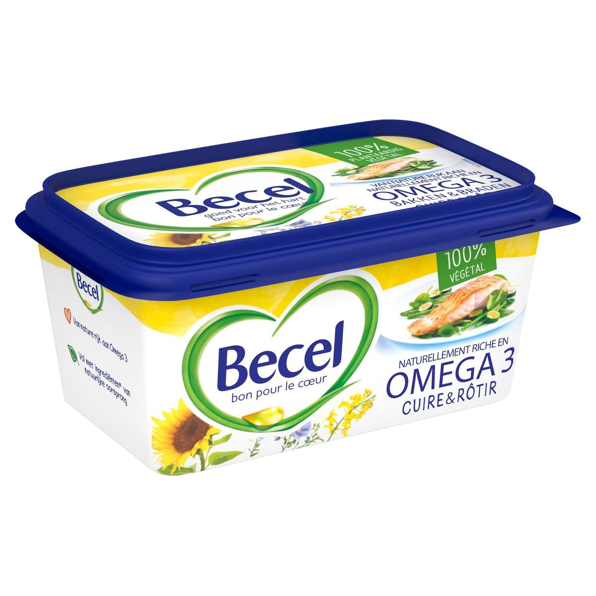 Becel Margarine Cuire & Rôtir 500 g