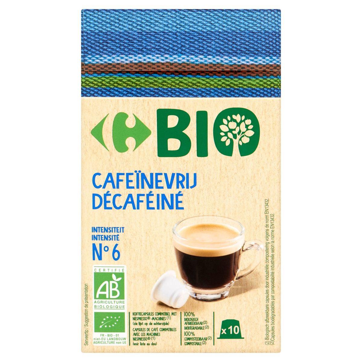 Carrefour Bio Décaféiné 10 Pièces 52 g