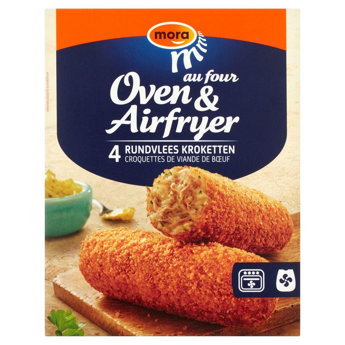Mora Oven & Airfryer Croquettes de Viande de Bœuf 4 x 80 g