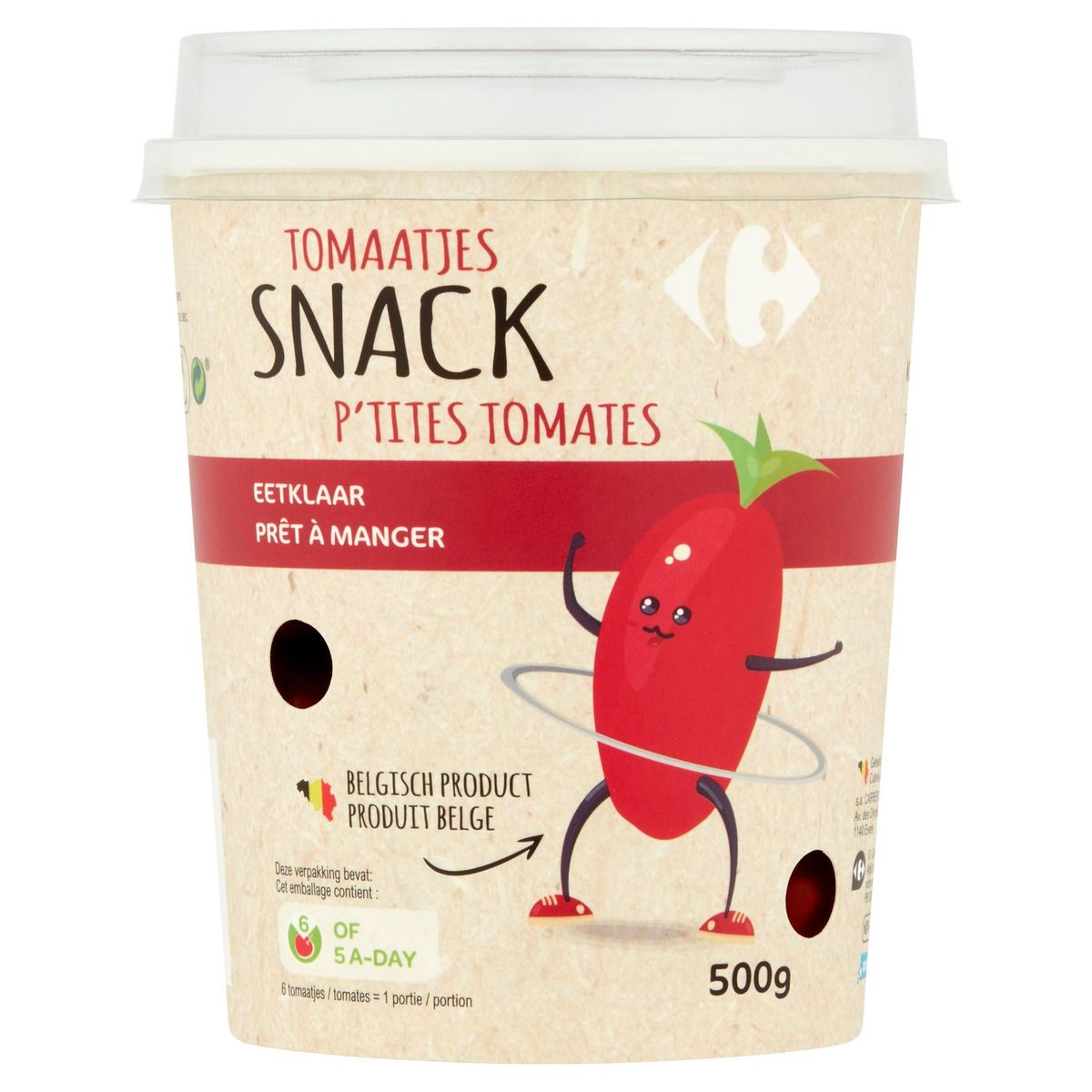 Carrefour Snack Tomaatjes 500 g