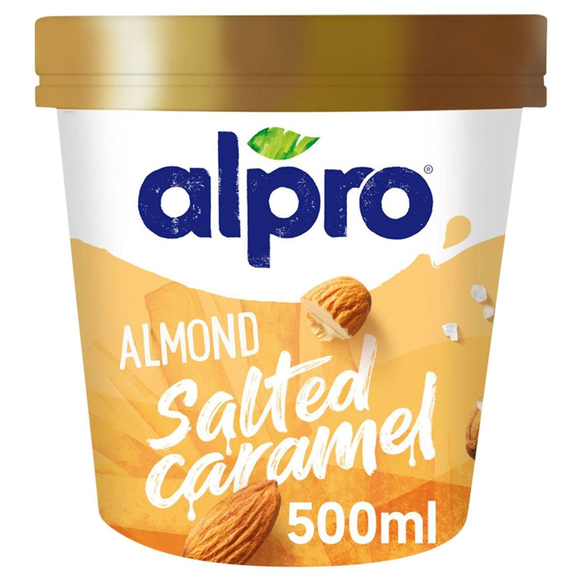 Alpro Glace Amande - Caramel Salé 500 ml